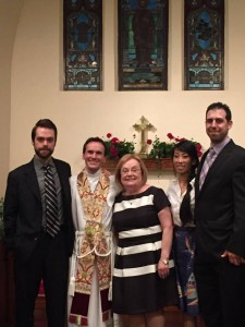 Fr. John and Family